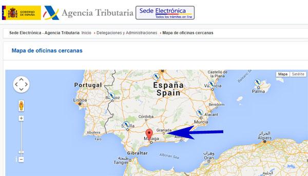 pedir día y hora para hacer trámites con la Agencia Tributaria en Granada